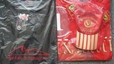Michael Schumacher Collection - polo shirt & fan T-Shirt, red with hat