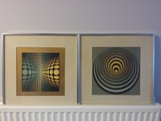 Victor Vasarely (after) - Compositions