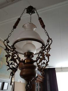 Very old oil lamp