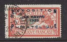 France 1929 - Exp. Phil. du Havre – Yvert 257A