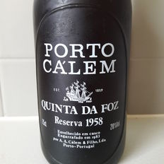 "1958 Colheita Port Calem ""Quinta Da Foz"" Reserva - bottled in 1983"