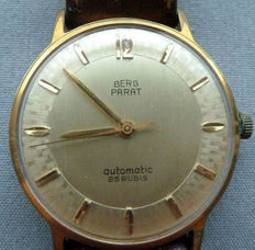 BERG PARAT Swiss men's wristwatch from the 1960s.