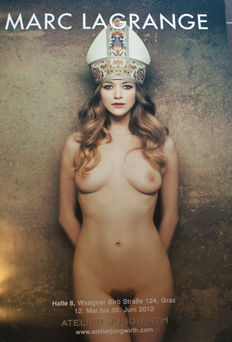 Marc Lagrange - High Priestress - Art Poster