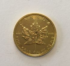 Kanada - 1/10 oz 1986 Maple Leaf
