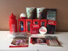 Collector's package of  Coca-Cola items, from several years
