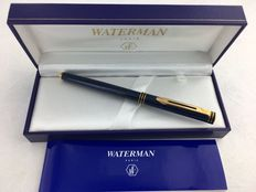 Waterman Exclusive blue marbled roller. In Mint Condition.