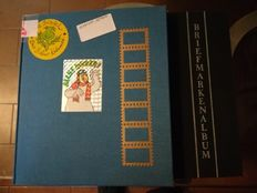 Thematic 3D stamps in two new albums - Walt Disney theme, used and new.