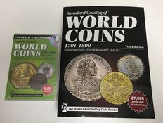 Accessories – Krause catalogue for world coins 1601–1700 (CD) and 1701–1800