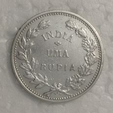 Portugal, India – One Rupee – 1912 – Lisbon