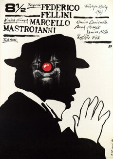 Andrezj Pagowski e.a. - 4 Movie Posters (incl. Fellini's Eight Half) - 1982-1989