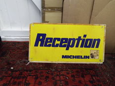 michelin reception thick plastic sign