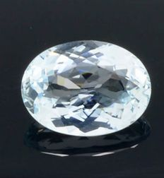 Light blue aquamarine - 3.24 ct