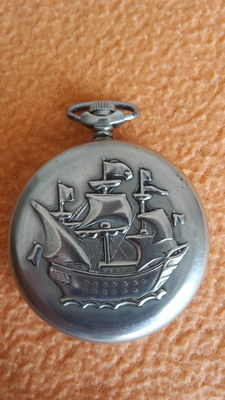 Molnija men's pocket watch – 1970