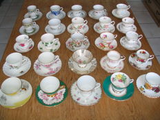 24 cups and saucers