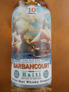 Barbancourt 10 years old - 70cl & 50% - 333 bottles only.