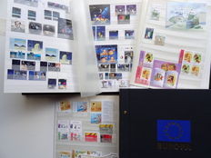 Europa Stamps 2000/2010 - Collection in DAVO album and stock book