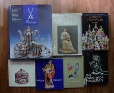 7 Books on porcelain