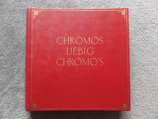 Album Chromos Liebig - 48 old series of 6 cards + 1 old serie of 12 cards - Liebig edition in very good condition - from 1888 to 1901.