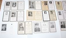 Lot of 20 death pictures German-WW2