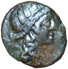 Greek Antiquity - Italy, Sicily, Syracuse Under Roman Rule - AE (20mm; 7,06g.), after 212 BC - Head Persephone / Demeter - SNG 1090