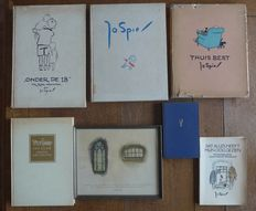 Jo Spier; Lot with 6 illustrated books - 1935/1976
