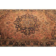 Collector's item – antique fine hand-knotted Persian oriental carpet – 200 x 135 cm – Fergahan Re Import Sarough – circa 1910