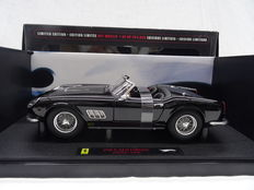 "Hotwheels Elite - Scale 1/18 - Ferrari 250 California Spider ""SWB"" - Colour: Black"