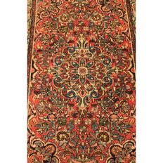Beautiful old hand-knotted Persian carpet – Sarough Saruk Lillian – Made in Iran – 160 x 110 cm
