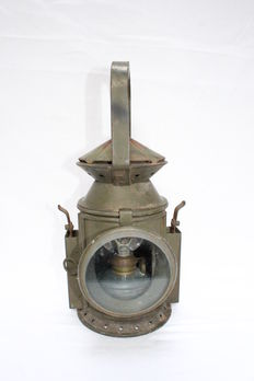 military oil lamp made by distrimetal - 1952 - Malines