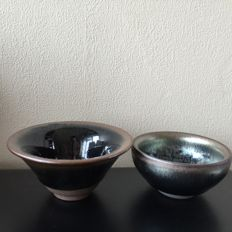 Two tea bowls - China - late 20th century