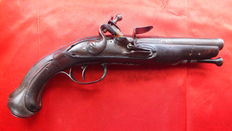 Flint horse pistol 18th century