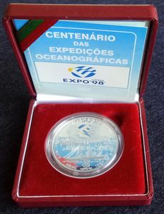 Portugal – 1,000 Escudos (silver) Centenary of the Ocean Exhibitions – 1997 – Lisbon