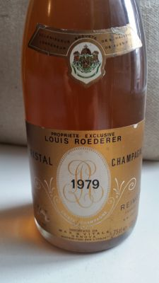 1979 Crystal Louis Roederer Millesime - 1 bottle (75cl)