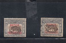 North Borneo and Labuan 1880/1920 - collection on cards