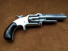 Smith & Wesson model 1 1/2 2nd issue in a case