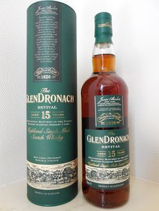 GlenDronach Revival, aged 15 years.