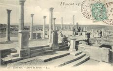 Algeria - Lot of 80 postcards - archaeological site of Timgad - Roman ruins