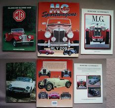 Automotive books; Lot of 3 editions on the famous brand MG-1984/1998
