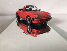 Premium ClassiXXs - Scale 1/12 - Porsche Carrera 3.2 Cabrio - Indian red