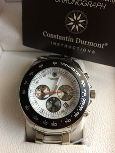 Constantin durmont Men's Watch Seawolf CD-SEAW-QZ-ST-STBK-WH