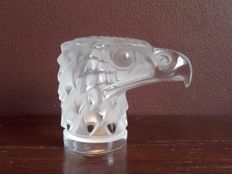 Lalique (France) - Crystal eagle head