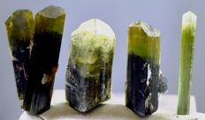 Lot of Terminated Tourmaline Crystals - 114 carats (4)