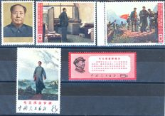 China 1965/1968 - Mao series - Michel 858/860