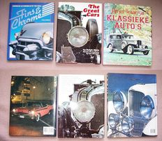 Automotive books; Lot consisting of 3 editions on spectacular American cars-1967/1994