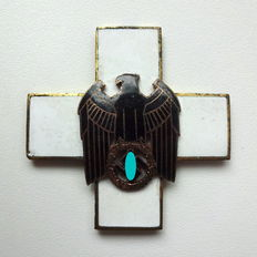 "3rd Reich - German ""Volkspflege"" Cross 1st grade, neck cross"