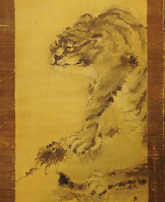 Fierce Tiger by Kishi Renzan (1805-59) - Japan - ca. 1830 (Edo Period)