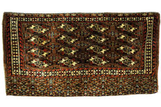 Beautiful antique Turkmen Chuval Yomouth tekke, circa 1900