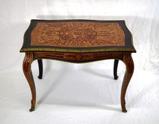 Boulle style coffee table - Italy - first half of 20th century