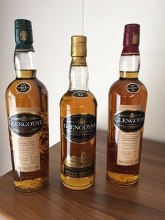 3 bottles - Glengoyne 10 years old, Glengoyne 12 years old & Glengoyne 17 years old