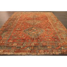 Collector's item, antique hand-knotted Persian carpet – Yalameh Qashqai Shiraz nomad carpet – wool on wool – made in Iran – 200 x 120 cm – circa 1900